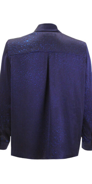 Silk Blouse Blue gravel
