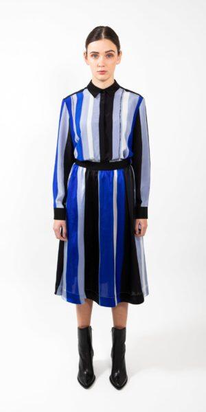 Skirt Graphic blue